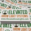 Elevated Grow Systems Vinyl Sticker Decal by Werkshop Digital Graphics
