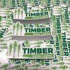 Timber Grow Lights Vinyl Sticker Decal by Werkshop Digital Graphics